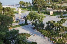 Bakou la flambeuse Quartier historique rutilant, folies architecturales et bling à tous les étages… La capitale d'Azerbaïdjan surprend