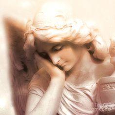Ethereal Angel Art - Dreamy Surreal Peaceful Comforting Angel Art ... fineartamerica.com