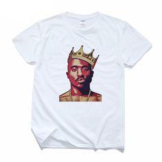 2Pac T-shirt Short Sleeve Thug Life Print