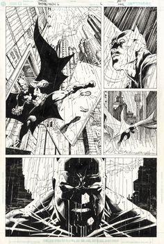 Jim Lee, Batman Hush #613 pg21, in G.C.'s JIM LEE Comic Art Gallery Room - 1021127