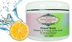 Ellasti*Body Organic Hydrating & Firming Caviar Butter, with Vitamins & Caviar Extract, 480 ml - http://best-anti-aging-products.co.uk/product/ellastibody-organic-hydrating-firming-caviar-butter-with-vitamins-caviar-extract-480-ml/