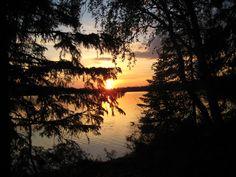 Summernight in Pyhäjärvi.