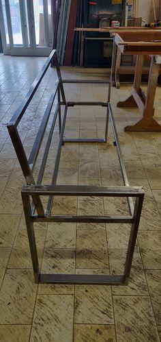 Welded Furniture, Timber Furniture, Iron Furniture, Steel Furniture, Industrial Furniture, Furniture Design, Wooden Sofa Set Designs, Chair Design Wooden, Sofa Design