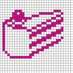 portal perler bead patterns - Google Search