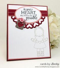 (Card Inside) My Favorite Things Stamp Card Cardmaking Craft Die #MFT #MyFavoriteThings #Cardmaking www.CardsByBecky.blogspot.com