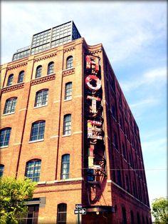 Wythe Hotel, Brooklyn, exterior