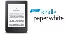 ebook reader amazon kindle paperwhite 4gb c/ luz 300ppi wifi
