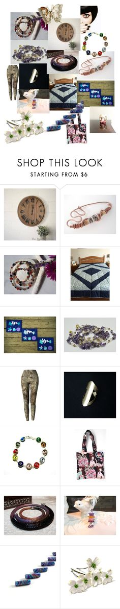 """""""Pretty Gifts on Etsy"""" by anna-recycle ❤ liked on Polyvore featuring modern, rustic and vintage"""