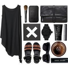 """""""Black and Brown"""" by sophi-sticated on Polyvore"""