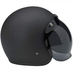 Biltwell Bonanza Helmet DOT Approved - Flat Black  This leaner, lighter and more comfortable DOT 3/4 lid boasts hand-painted finishes like our other lids. The Bonanza's interior boasts a custom-shaped EPS safety shell and a hand-stitched liner with moisture wicking brushed Lycra panels and open-cell foam padding for breathability and comfort. The rugged nylon neck strap features plated steel D-rings and a snap strap end retainer with Biltwell anvil branding. Available in six sizes, XS-XXL…
