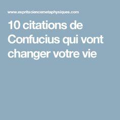 10 citations de Confucius qui vont changer votre vie