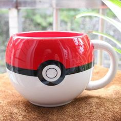 Specifications: Type: For Pokemon GO Poke Ball Figural Ceramic Mug Coffee Cup Material: Ceramics Color: Red+White Product Size: Approx. Length handle ) Height Capacity: Package Details: 1 x For Pokemon GO Poke Ball Figural Ceramic Mug Coffee Cup Pokemon Mug, Pikachu, Pokemon Gifts, Coffee Cups, Tea Cups, Coffee Milk, Espresso Cups, Cool Mugs, Disney Dining