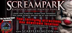 Category 5. What makes a haunted house? People that can make you SCREAM! Scream Park, Kentucky's Largest Haunted Event. @The ScareFest