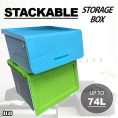 [S$7.90](▼61%)★STACKABLE STORAGE BOX ★Storage Closet ★Storage Drawer ★Container ★Plastic ★Home Organization ★Home Decoration ★Fast Delivery