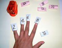 Material pedagógico hecho en casa: Tablas de Multiplicar