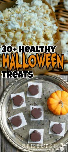 30  Healthy Halloween Treats - Rubies