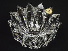 Riihimaki 'Lumpeenkukka' glass bowl by Aimo Okkolin