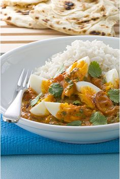 Tikka Masala Eggs by Allyson Gofton Red Onion Chutney, Masala Curry, 15 Minute Meals, Indian Food Recipes, Ethnic Recipes, Quick Easy Dinner, Easy Dinners, Nutritious Meals, Brunch