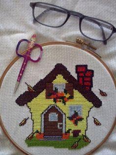 Sonbahar evi ,çok şirin olmamış mı :) Crossstitch, Fictional Characters, Art, Cross Stitch, Art Background, Punto De Cruz, Kunst, Fantasy Characters, Needlepoint