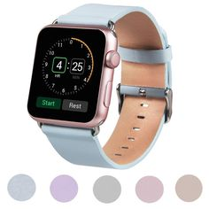 NEW Luxury Leather watch band For Apple Watch 38/42 mm