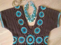 Fabulous Crochet a Little Black Crochet Dress Ideas. Georgeous Crochet a Little Black Crochet Dress Ideas. Black Crochet Dress, Crochet Skirts, Crochet Tunic, Crochet Motif, Crochet Clothes, Knit Crochet, Crochet Patterns, Crochet Crafts, Crochet Projects