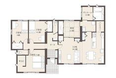 充実の設備で暮らしを快適に | 茨城セキスイハイム | 茨城県の住宅メーカー(ハウスメーカー) Ibaraki, House Plans, Floor Plans, Flooring, How To Plan, Home, Asylum, Blueprints For Homes, Home Plans