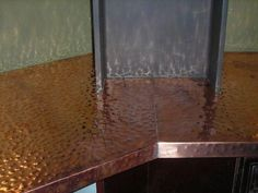 Copper Countertops | Hammered Copper Counter Tops