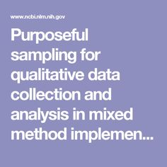 SamplingMethodsInQualitativeAndQuantitativeResearch