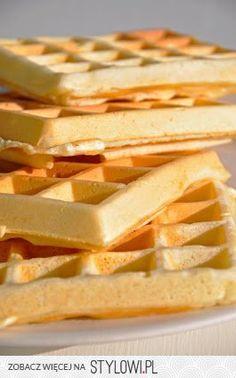 Słodko i Pieprznie: Gofry 300 g mąki pszennej 250ml m… na Stylowi.pl Cake Bars, Pumpkin Cheesecake, Apple Pie, Kids Meals, Deserts, Food And Drink, Dessert Recipes, Appetizers, Sweets