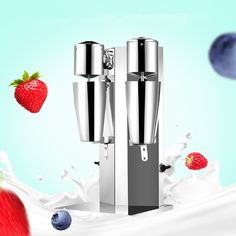 99.00$  Watch here - http://ali0bx.worldwells.pw/go.php?t=32733666761 - Double head milk shake machine commercial milkshaker blender  220v   ZF