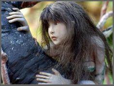 Sculpture by Tatjana Raum   She brings fairies to life