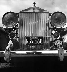 Walker Evans: Photographs of Vintage Rolls-Royce Automobiles, 1958 - LIFE