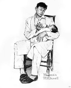 Norman Rockwell study - Google Search