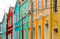 Valparaíso et ses collines peintes par les artistes