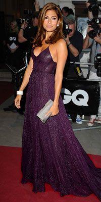 Eva Mendes in Calvin Klein Collection