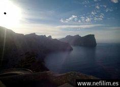 Ovni capturado en una foto de Mallorca