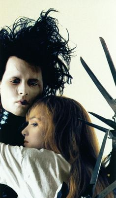Edward Scissorhands. I refuse to watch this movie because it makes me cry, but then again I love it!
