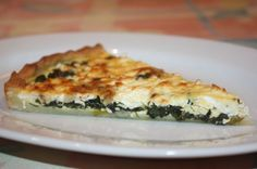 Bärlauch-Schafskäse-Quiche Quiches, Wild Garlic, Good Food, Yummy Food, Vegetarian Cooking, Healthy Recipes, Healthy Meals, Yummy Recipes, Bakery
