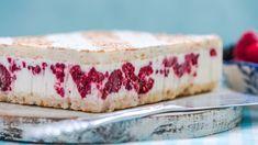 Letný tvarohový koláč s malinami | Recepty.sk