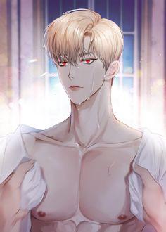 Boy Art, Art Girl, Character Art, Character Design, Bishounen, Handsome Anime Guys, Artist Names, Photo Colour, Kawaii Anime