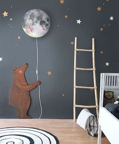 •I love this kids bedroom design, magical•