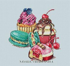 Thrilling Designing Your Own Cross Stitch Embroidery Patterns Ideas. Exhilarating Designing Your Own Cross Stitch Embroidery Patterns Ideas. Easy Cross Stitch Patterns, Cross Stitch Charts, Cross Stitch Designs, Cupcake Cross Stitch, Simple Cross Stitch, Cross Stitching, Cross Stitch Embroidery, Embroidery Patterns, Cross Stitch Kitchen