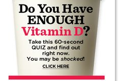 Do you have enough vitamin D?
