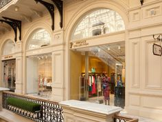 LeShopz / Versace Collection / GUM shopping mall, Moscow, Russia
