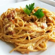30-min meals: Chef John's Spaghetti alla Carbonara Allrecipes.com ( I think I would sub bacon for the guanciale)