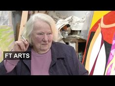 Interview with painter Gillian Ayres | FT Arts - YouTube