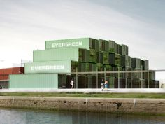 olgga architectes: 'crou' - 100 recycled container student housing