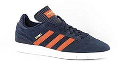 Adidas Busenitz Men's Skateboarding Shoes Size US 12, Regular Width, Color Navy/Orange