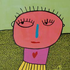 Milo Lockett elegido por  Taina Heart Art, Abstract Paintings, Illustration, Education, Frases, The World, Pictures To Paint, Teachers' Day, Art Projects