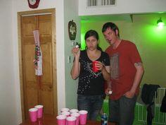Beer Pong! #TheStoryOfUs.